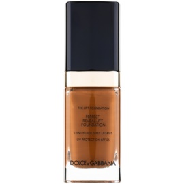 Dolce & Gabbana The Foundation The Lift Foundation Fond de ten cu efect de lifting SPF 25 culoare Soft Sable 180 30 ml