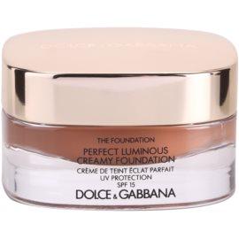 Dolce & Gabbana The Foundation Perfect Luminous Creamy Foundation rozjasňující krémový make-up SPF15 odstín 180 Soft Sable 30 ml