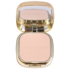 Dolce & Gabbana The Foundation Perfect Matte Powder Foundation Matterende Poeder Make-up met Spiegeltje en Applicator  Tint  No. 50 Ivory  15 gr