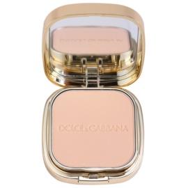 Dolce & Gabbana The Foundation Perfect Matte Powder Foundation matirajoča pudrasta podlaga z ogledalom in aplikatorjem odtenek No. 60 Classic  15 g