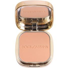 Dolce & Gabbana The Foundation Perfect Matte Powder Foundation Matterende Poeder Make-up  met Spiegeltje en Applicator  Tint  No. 100 Warm  15 gr