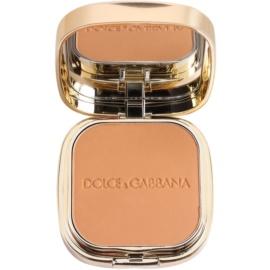 Dolce & Gabbana The Foundation Perfect Matte Powder Foundation matirajoča pudrasta podlaga z ogledalom in aplikatorjem odtenek No. 144 Bronze  15 g