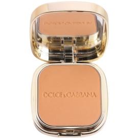 Dolce & Gabbana The Foundation Perfect Matte Powder Foundation matirajoča pudrasta podlaga z ogledalom in aplikatorjem odtenek No. 150 Almond  15 g