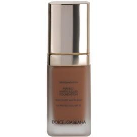 Dolce & Gabbana The Foundation Perfect Matte Liquid Foundation make up pentru un aspect mat culoare No. 170 Golden Honey SPF 20  30 ml