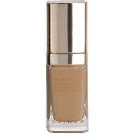 Dolce & Gabbana The Foundation Perfect Luminous Liquid Foundation лек кадифен фон дьо тен за озаряване на лицето цвят No. 110 Caramel  30 мл.
