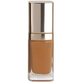 Dolce & Gabbana The Foundation Perfect Luminous Liquid Foundation лек кадифен фон дьо тен за озаряване на лицето цвят No. 160 Soft Tan  30 мл.