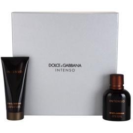 Dolce & Gabbana Pour Homme Intenso подаръчен комплект II. парфюмна вода 75 ml + балсам след бръснене 100 ml
