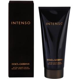 Dolce & Gabbana Pour Homme Intenso borotválkozás utáni balzsam férfiaknak 100 ml