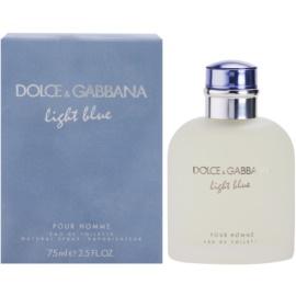 Dolce & Gabbana Light Blue Pour Homme woda toaletowa dla mężczyzn 75 ml