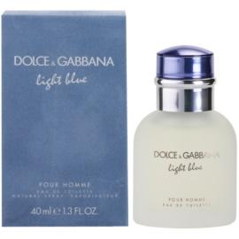 Dolce & Gabbana Light Blue Pour Homme toaletní voda pro muže 40 ml