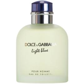 Dolce & Gabbana Light Blue Pour Homme eau de toilette teszter férfiaknak 125 ml