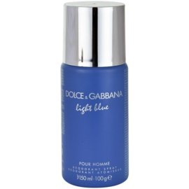 Dolce & Gabbana Light Blue Pour Homme Deo Spray voor Mannen 150 ml