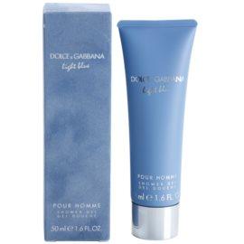 Dolce & Gabbana Light Blue Pour Homme sprchový gél pre mužov 50 ml
