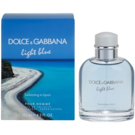Dolce & Gabbana Light Blue Swimming in Lipari Eau de Toilette für Herren 125 ml