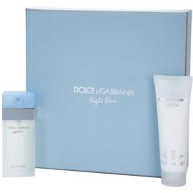Dolce & Gabbana Light Blue подарунковий набір ХІ  Туалетна вода 25 ml + Крем для тіла 50 ml
