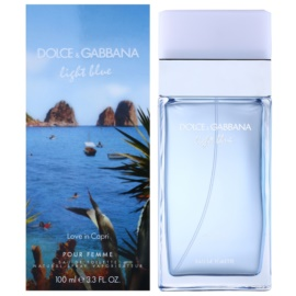 Dolce & Gabbana Light Blue Love in Capri toaletní voda pro ženy 100 ml