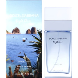 Dolce & Gabbana Light Blue Love in Capri Eau de Toilette für Damen 50 ml