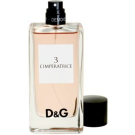 Dolce & Gabbana D&G Anthology L'Imperatrice 3 тоалетна вода тестер за жени 100 мл.