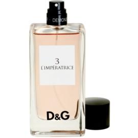 Dolce & Gabbana D&G Anthology L'Imperatrice 3 toaletní voda tester pro ženy 100 ml