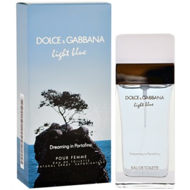 Dolce & Gabbana Light Blue Dreaming in Portofino Eau de Toilette für Damen 100 ml