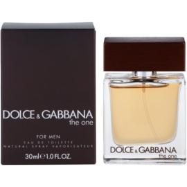Dolce & Gabbana The One for Men Eau de Toilette para homens 30 ml