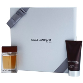 Dolce & Gabbana The One for Men dárková sada VIII. toaletní voda 50 ml + balzám po holení 75 ml