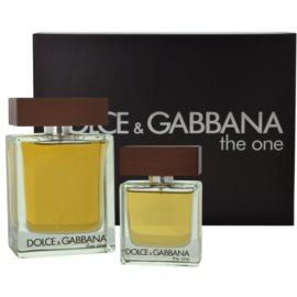 Dolce & Gabbana The One for Men ajándékszett IV. Eau de Toilette 100 ml + Eau de Toilette 30 ml