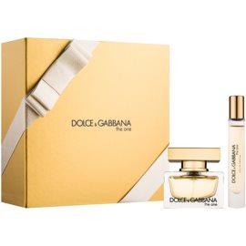 Dolce & Gabbana The One darčeková sada XII.  parfémovaná voda 30 ml + parfémovaná voda 7,4 ml