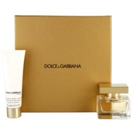 Dolce & Gabbana The One Gift Set ІХ  Eau De Parfum 30 ml + Body Milk 50 ml