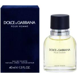 Dolce & Gabbana Pour Homme toaletná voda pre mužov 40 ml