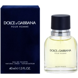 Dolce & Gabbana Pour Homme Eau de Toilette for Men 40 ml