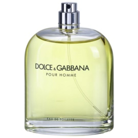 Dolce & Gabbana Pour Homme toaletní voda tester pro muže 125 ml
