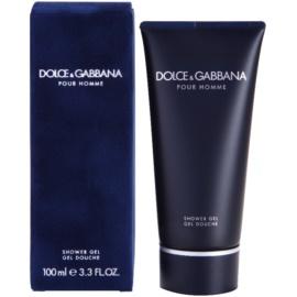 Dolce & Gabbana Pour Homme sprchový gél tester pre mužov 100 ml