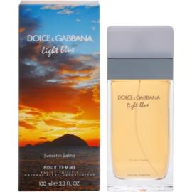 Dolce & Gabbana Light Blue Sunset in Salina woda toaletowa dla kobiet 100 ml