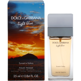 Dolce & Gabbana Light Blue Sunset in Salina eau de toilette pour femme 25 ml