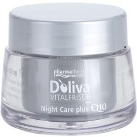 Doliva Vitalfrisch Q10 нощен крем  за регенериране на кожата   50 мл.
