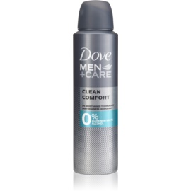 Dove Men+Care Clean Comfort Alcohol-Free and Aluminium-Free Deodorant 24 h  150 ml