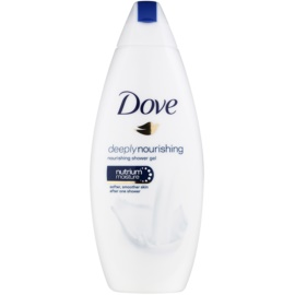 Dove Deeply Nourishing gel de banho nutritivo  250 ml