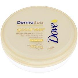 Dove DermaSpa Goodness³ Body Cream for Soft and Smooth Skin  75 ml