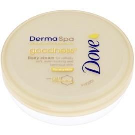 Dove DermaSpa Goodness³ Körpercreme für sanfte und weiche Haut  75 ml