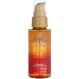 Dove Advanced Hair Series Regenerate Nourishment sérum em óleo regenerador para cabelo muito danificado  50 ml
