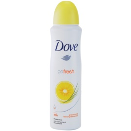 Dove Go Fresh Energize dezodorant antiperspirant v spreji 48h grep a citrónová tráva  150 ml