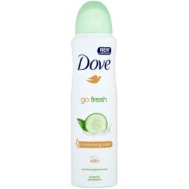 Dove Go Fresh Fresh Touch Antitranspirant Deospray 48 Std. Gurke und grüner Tee  150 ml