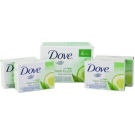 Dove Go Fresh Fresh Touch trdo milo  4x100 g