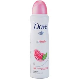 Dove Go Fresh Revive дезодорант в спрей  48 часа  нар и лимон върбинка  150 мл.