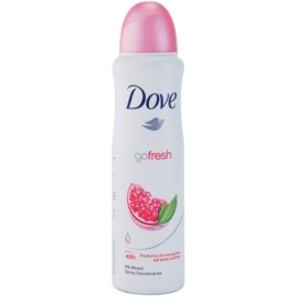 Dove Go Fresh Revive Deodorant Spray  48h Granaatappel en Citroen Verbena  150 ml