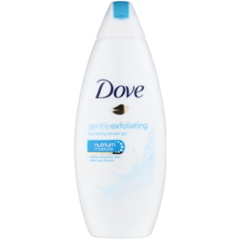 Dove Gentle Exfoliating Voedende Douchegel  met Peeling Effect   250 ml