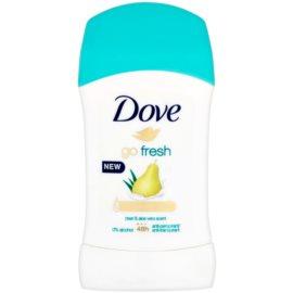 Dove Go Fresh твердий антиперспірант 48 годин Pear & Aloe Vera Scent 40 мл