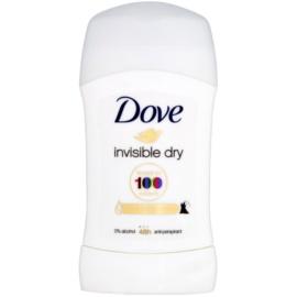 Dove Invisible Dry trdi antiperspirant proti belim madežem 48 ur  40 ml