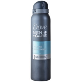 Dove Men+Care Clean Comfort Antitranspirant Deospray 48 Std.  150 ml